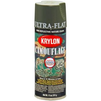 Barva maskovací ve spreji Krylon, olivová