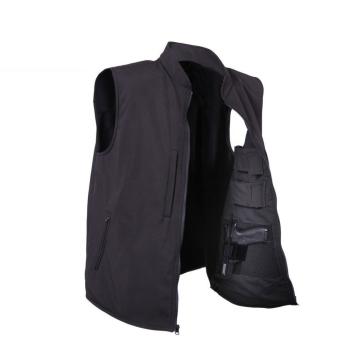 Softshellová vesta pro skryté nošení zbraní, černá, Rothco