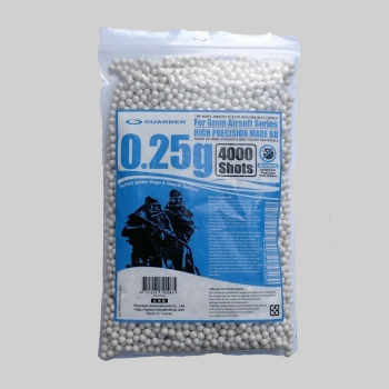 Airsoft kuličky Guarder High Precision 0,25 g, 4000 ks