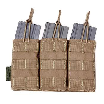 Trojitá sumka na 3 zásobníky 5.56, otevřená, Warrior