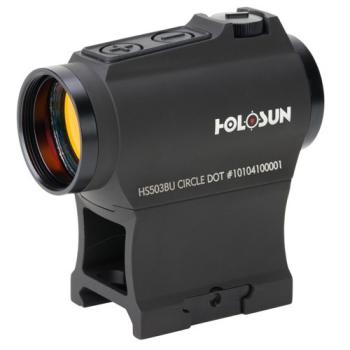 Kolimátor Holosun HS503BU, dva záměrné obrazce, pohybový senzor