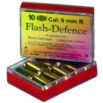 Flash-Defence náboj pro plynový revolver, 9 mm R, Wadie, 10ks