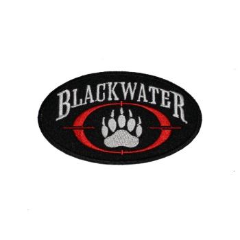 Nášivka Blackwater, vyšívaná nažehlovací