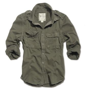 Košile Raw Vintage, dlouhý rukáv, Surplus