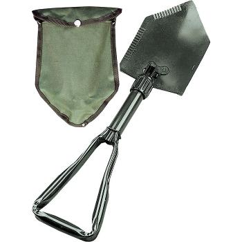 Skládací polní lopatka Deluxe, s pouzdrem, NSN, Rothco