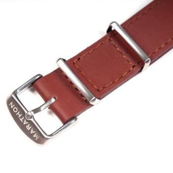 Kožený pásek na hodinky Marathon, 20mm