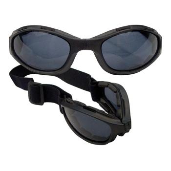 Taktické skládací brýle Collapsible s UV400, černé, Rothco