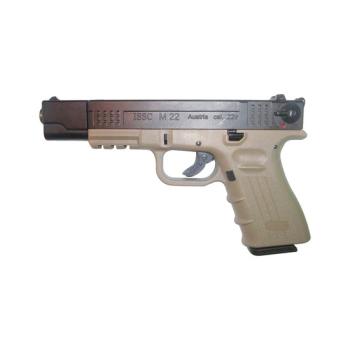 Pistole ISSC M22 Target, kalibr .22 LR HV, bicolour