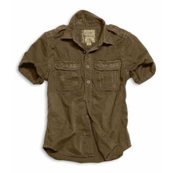 Košile Raw Vintage, krátký rukáv,  Surplus