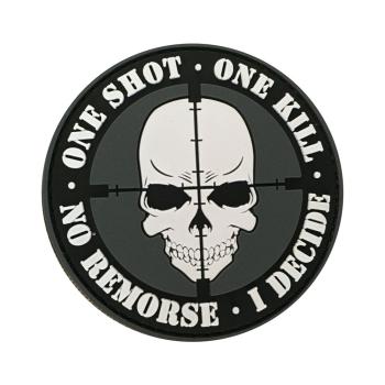 PVC nášivka One Shot, One Kill