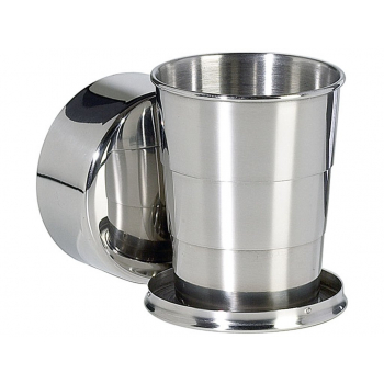 Skládací nerezový pohárek, 125 ml, Reliance