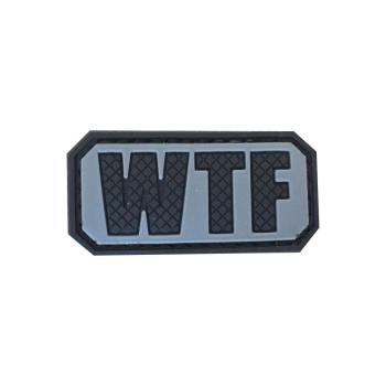 PVC nášivka WTF