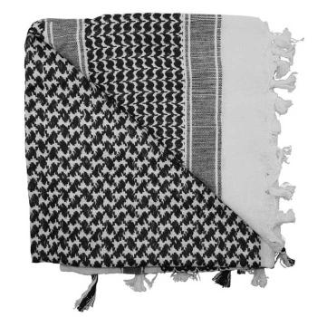 Šátek Shemagh Deluxe, černo-bílý, Rothco