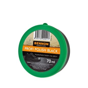 Hydrofobní krém na černou obuv, 70 ml, Bennon