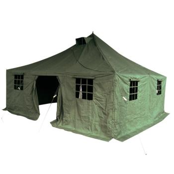 Velký vojenský stan, 23 m2, olivový, Mil-Tec