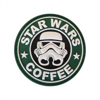 PVC nášivka Star Wars and Coffee