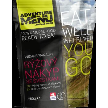 Rýžový nákyp se švestkami, bez lepku, vegetariánské, Adventure Menu