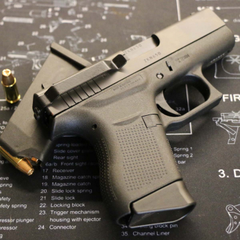 Clipdraw klip pro skryté nošení pistole Glock 43