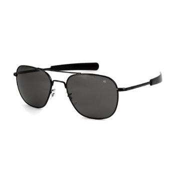 Polarizované pilotní brýle, American Optics, černé, Rothco