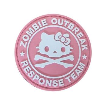 PVC nášivka Zombie Outbreak Response Team, Kitty