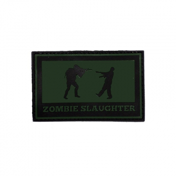 Nášivka Zombie Slaughter, hranatá