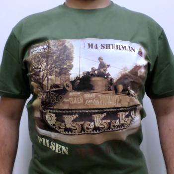 Triko Tank Sherman Pilsen, olivová, Netrvalowitz Werke