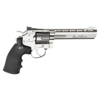 "Airsoftový revolver Dan Wesson, 6"" chromovaný"