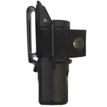 Plastové pouzdro pro teleskopický obušek, krátké s klipem, ESP
