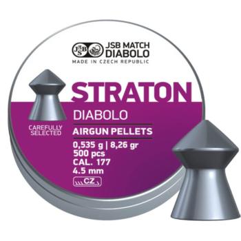 Diabolo JSB Straton, ráže 4,5 mm (.177), 500 ks