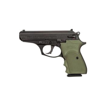 Pistole Bersa Thunder 380 Combat, ráže 9 mm Br., zelený pryž. grip, černá