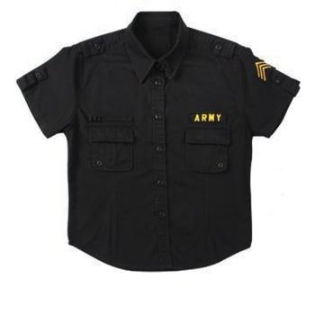 Dámská košile Vintage Fatigue, černá, Rothco