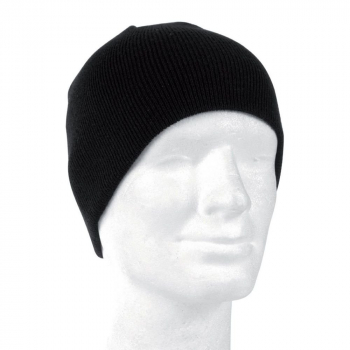 Zimní čepice Beanie, černá, Mil-tec