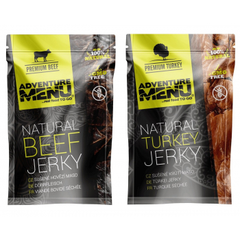 Jerky, Adventure Menu