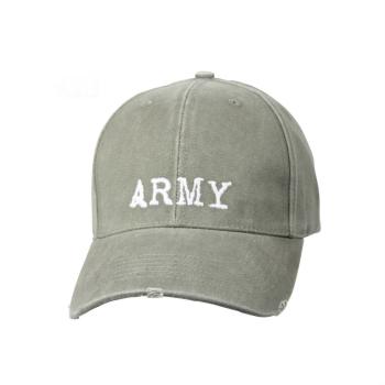 Kšiltovka Deluxe Low Profile Army, olivová, Rothco