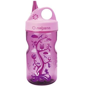 Kojenecká lahev Nalgene Grip'n Gulp™, 350 ml, růžová