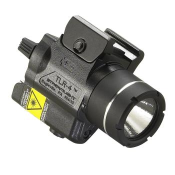 Svítilna na zbraň Streamlight TLR-4, 125 lm C4 LED dioda, červený laser