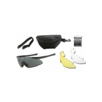 Střelecké brýle ICE NARO, 3 výměnná skla, ESS