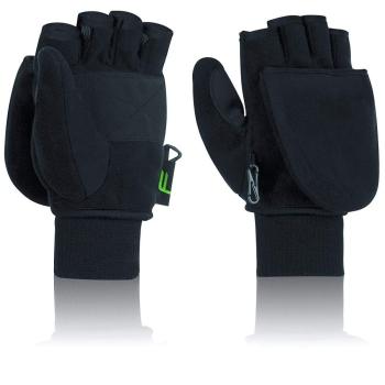 Odklápěcí rukavice černé funkční, Fuse
