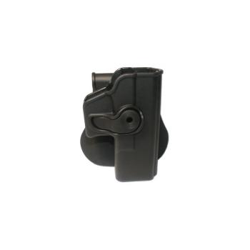 Pouzdro s pádlem pro zbraně Glock 19, 23, 32 - černé