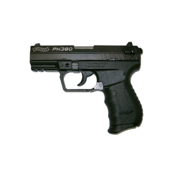 Pistole Walther PK380, .380 Auto, černý