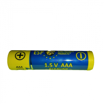 Alkalická baterie typ AAA, mikrotužková baterie