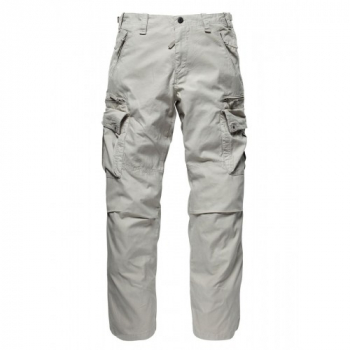 Kalhoty Rico Vintage Industries, bavlna, khaki