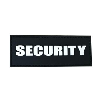 PVC nášivka Security
