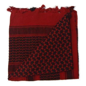 Šátek Shemagh Deluxe, červeno-černý, Rothco