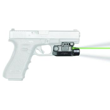 Viridian X5L taktická svítilna se zeleným laserem do railu