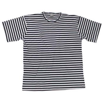 Tričko ruské s černými pruhy, krátký rukáv