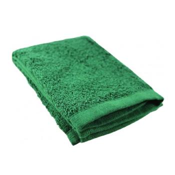 Ručník na obličej, zelený, BCB