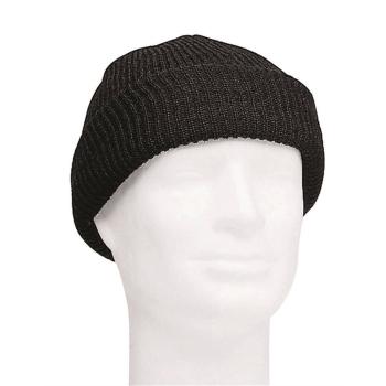 Vlněná čepice US Watch Cap, černá, Mil-Tec