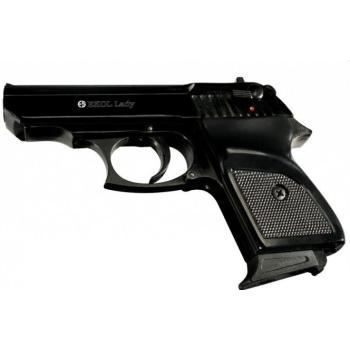 Plynová pistole Ekol Lady 08 černá cal. 9mm P.A.Knall