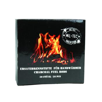 Palivo pro kapesní uhlíkový ohřívač, Mil-Tec